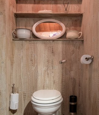 Dauby Toiletborstelhouder mat zwart brons