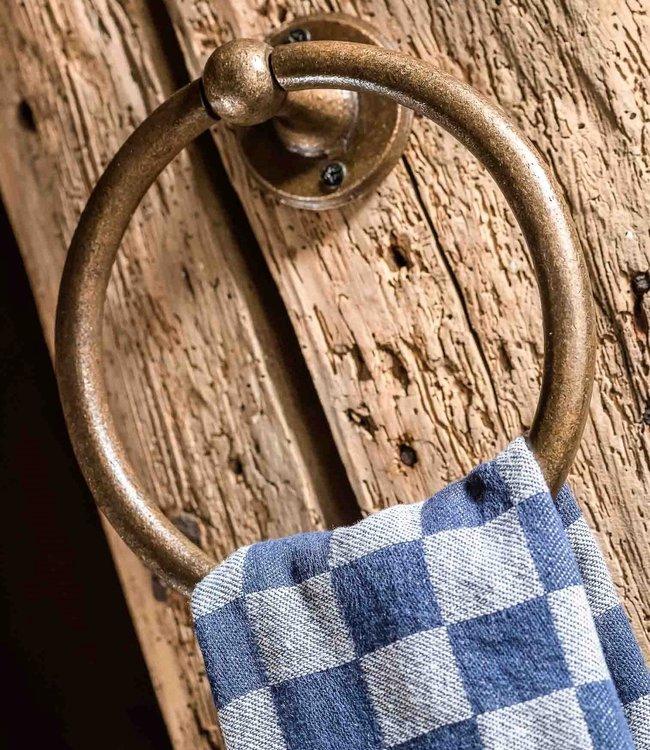 Dauby Handdoekring Ruw Brons