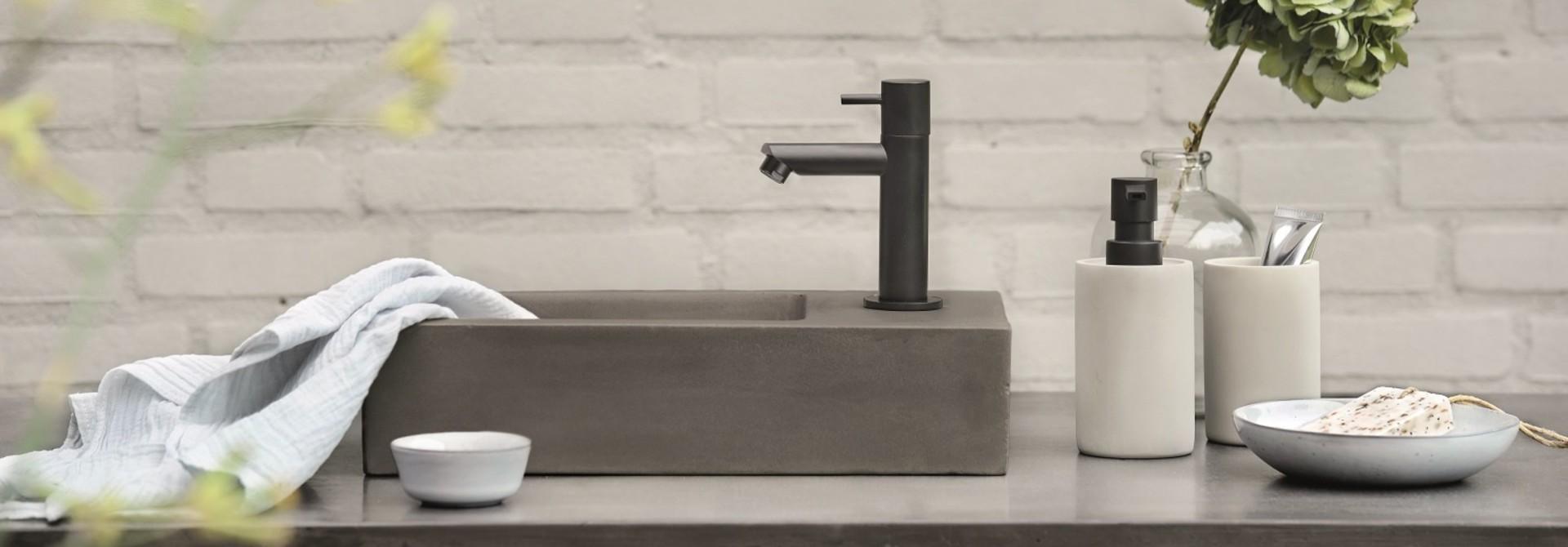 Fonteinsets toilet zelf samen te stellen