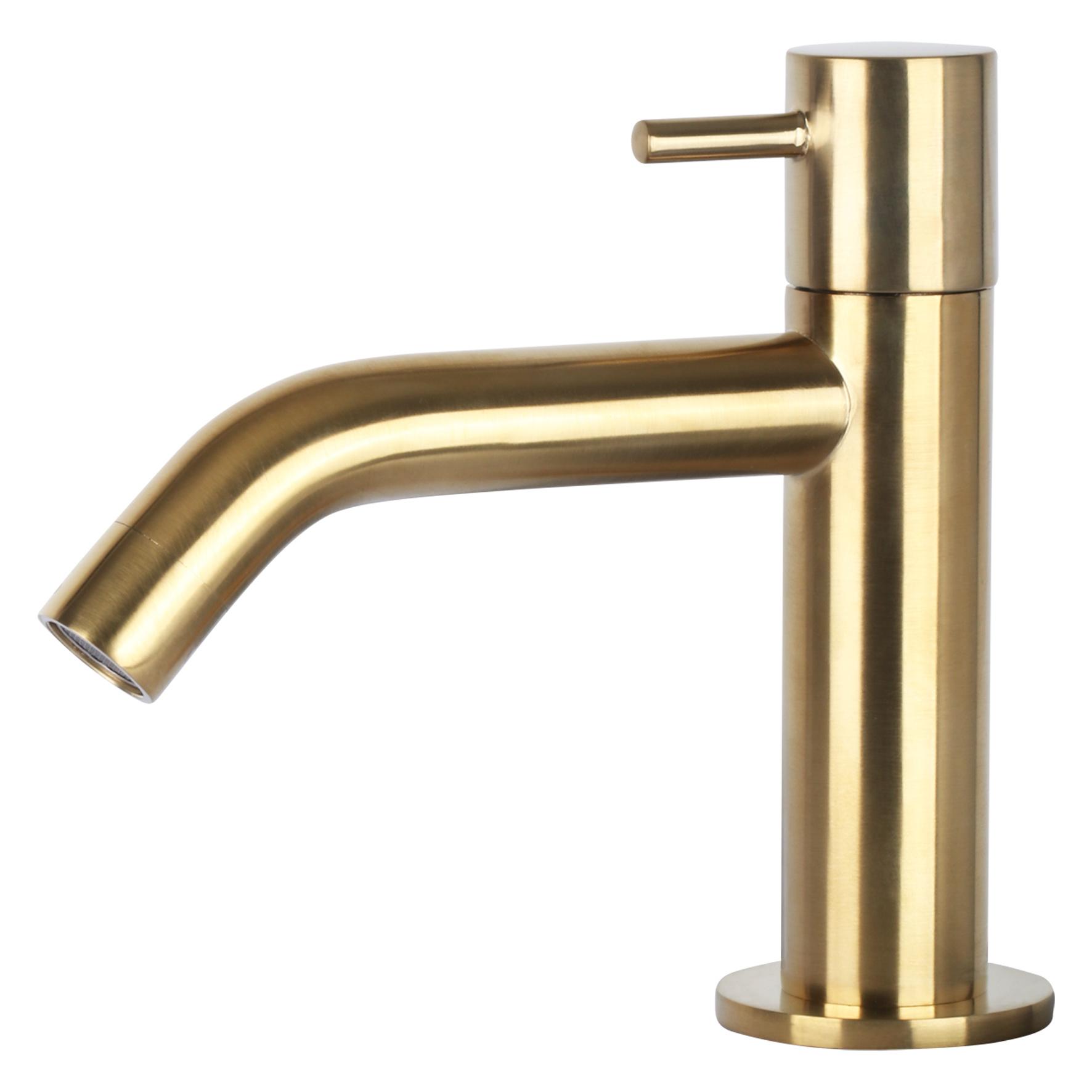 Davido fonteinset - keramiek - kraan mat goud-6