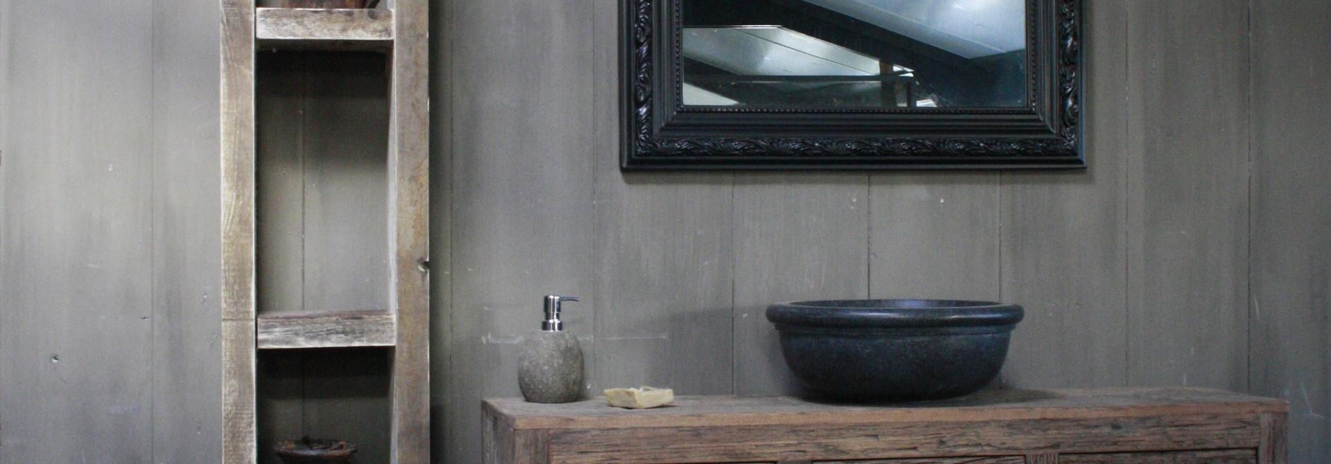 Kuifspiegel Barok Roma Black 117 x 80 cm