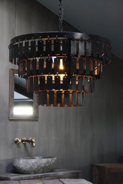 Landelijke Metalen Hanglamp Dean 40 x 55 cm