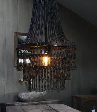 Rene Houtman Landelijk metalen hanglamp Katie 65 x 50 cm