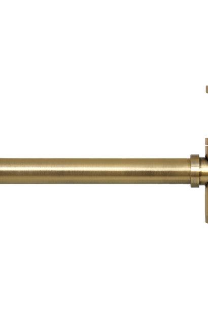 Mix design sifon geborsteld messing goud