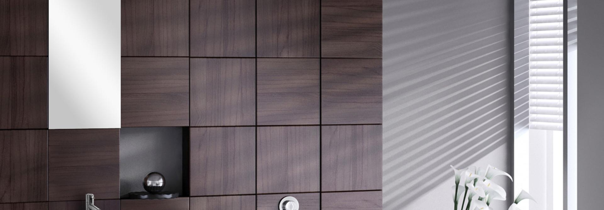 Flat Small fontein – Keramiek wit 24 x 38 x 7 cm