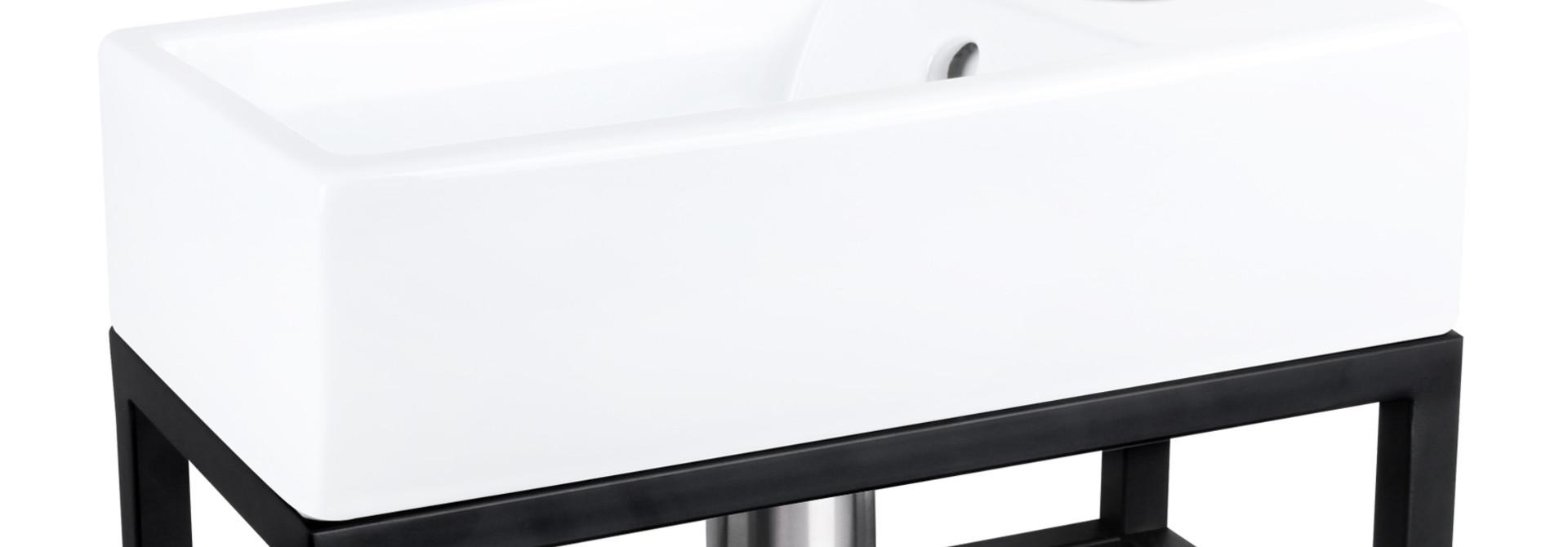 Force fontein – Keramiek wit 22 x 40 x 11,5 cm