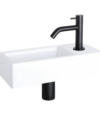 Differnz Ravo fontein – Keramiek wit 39,5 x 11,5 x 20,5 cm