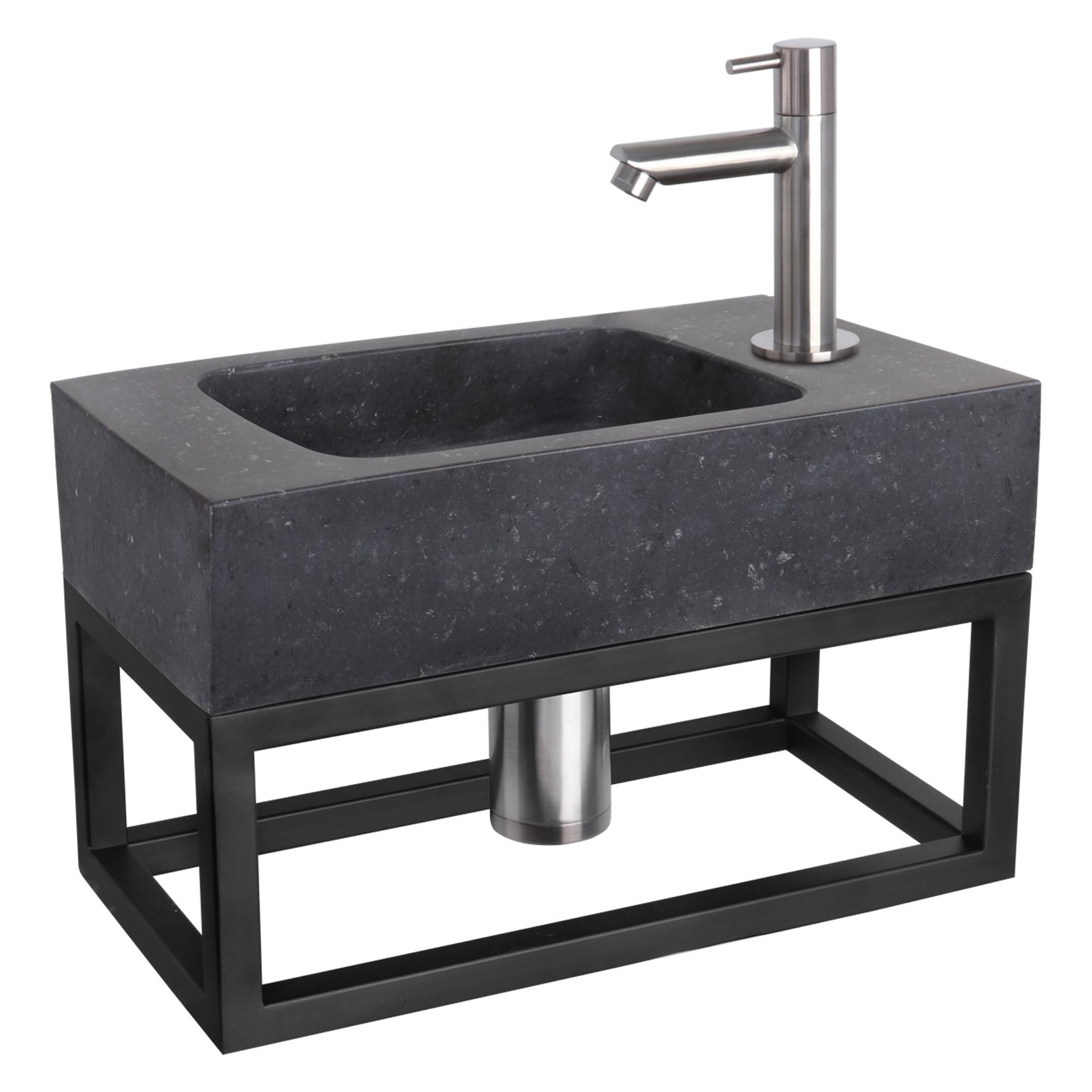 Fontein – black – Natuursteen 22 x 40 x 9 cm-4