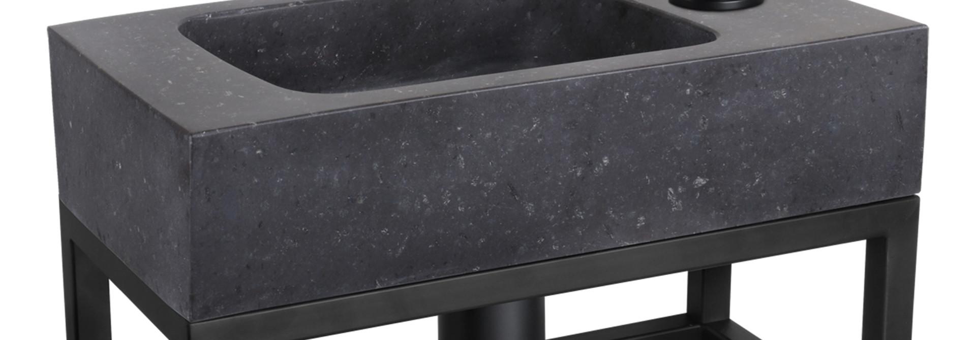 Fontein – black – Natuursteen 22 x 40 x 9 cm