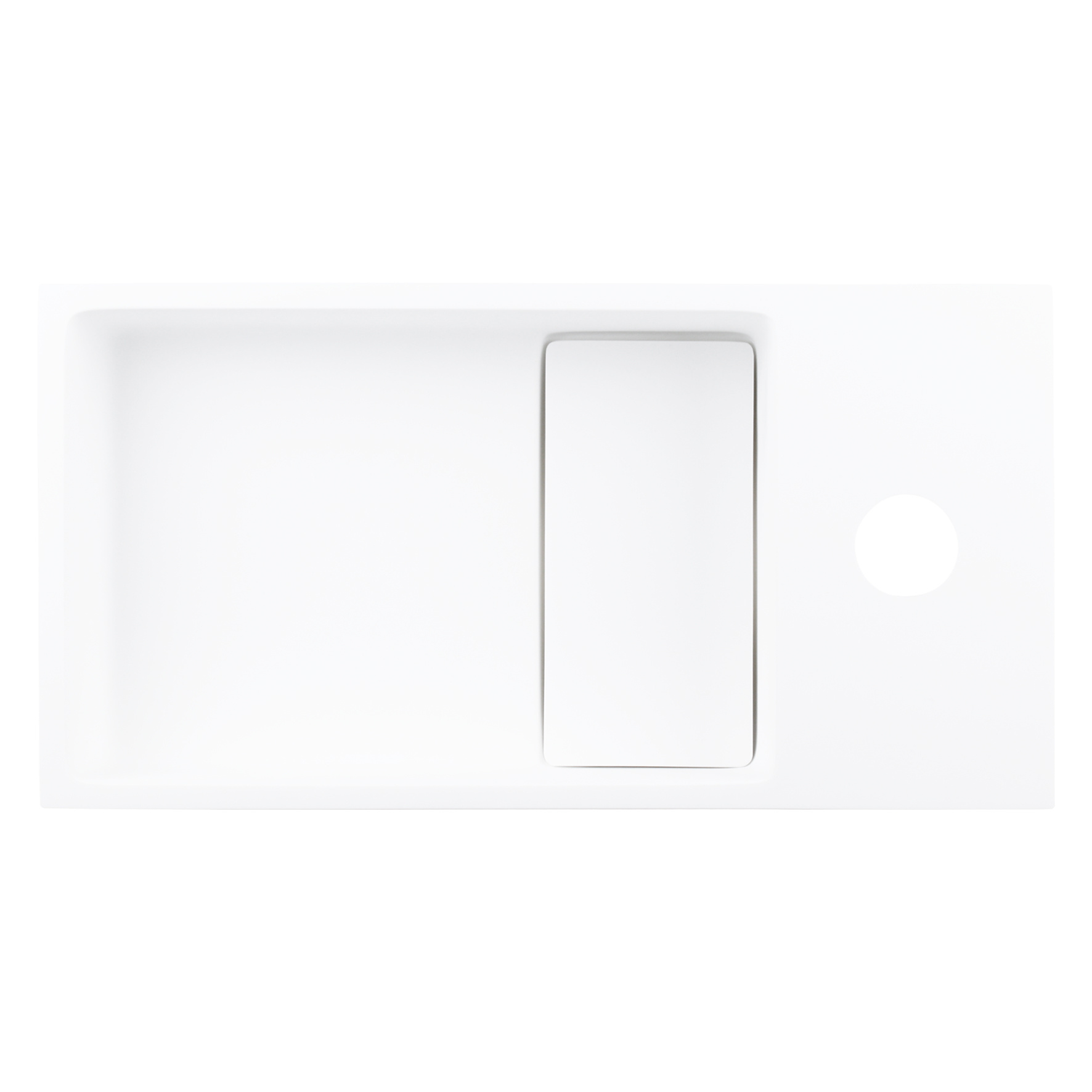 Solid fontein – Solid surface 18,5 x 36 x 9 cm-4