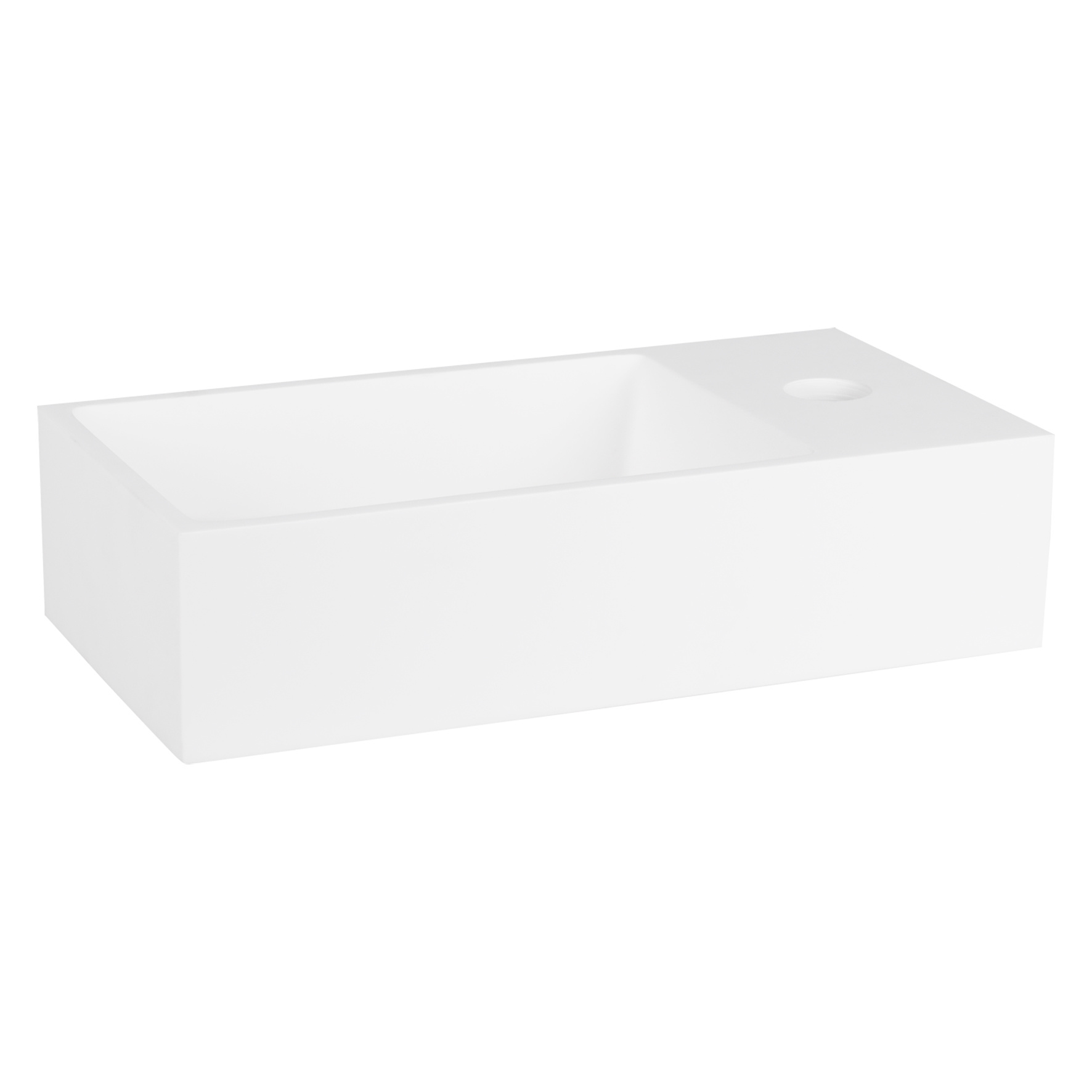 Solid fontein – Solid surface 18,5 x 36 x 9 cm-5