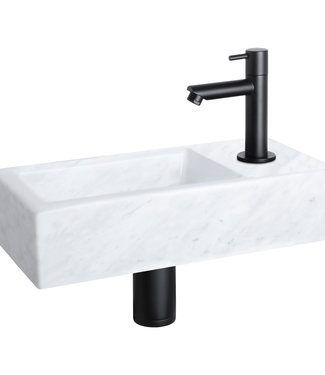Differnz Helios fontein – Marmer 18,5 x 37,5 x 9,5 cm