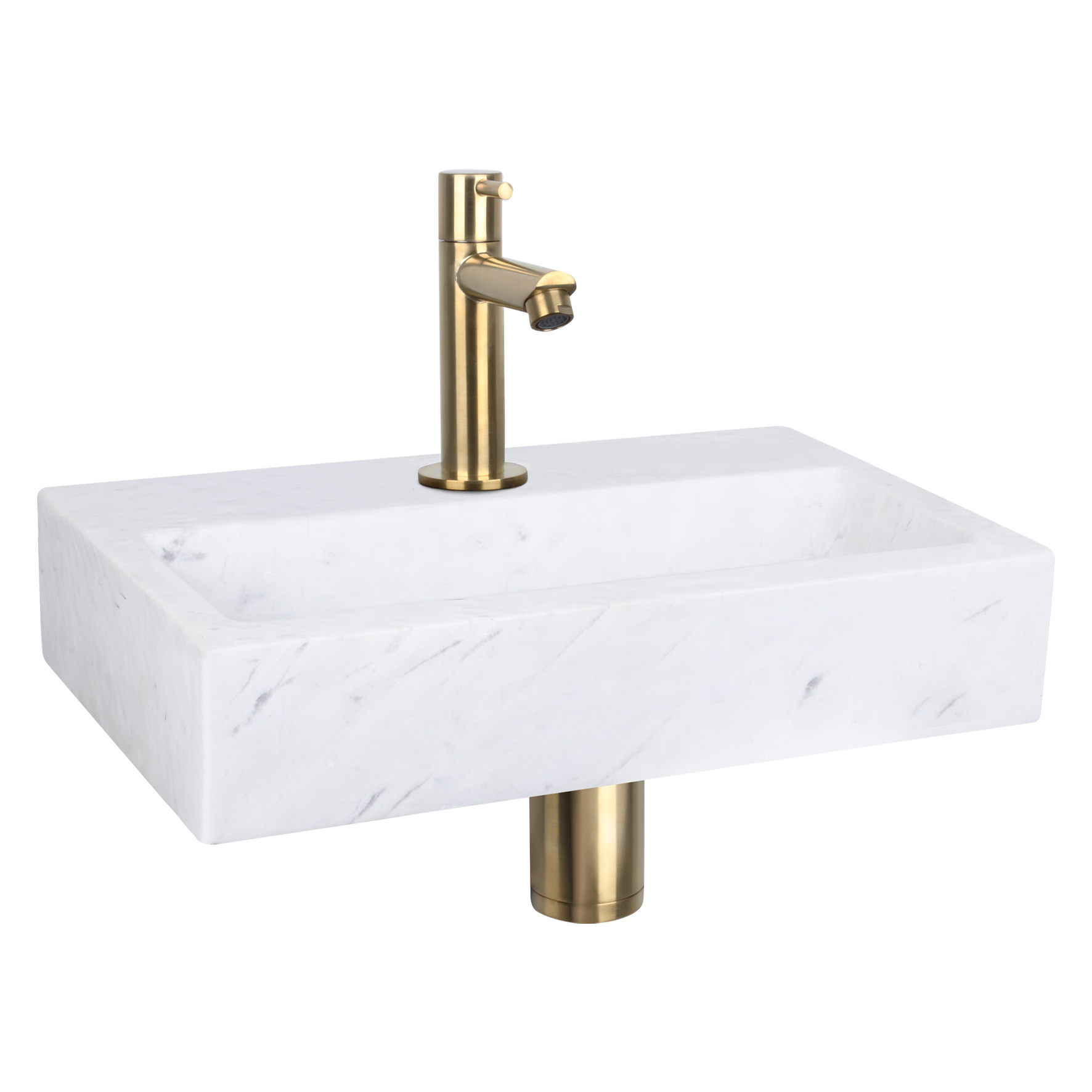 Flat fontein – Marmer 24 x 38 x 8 cm-2