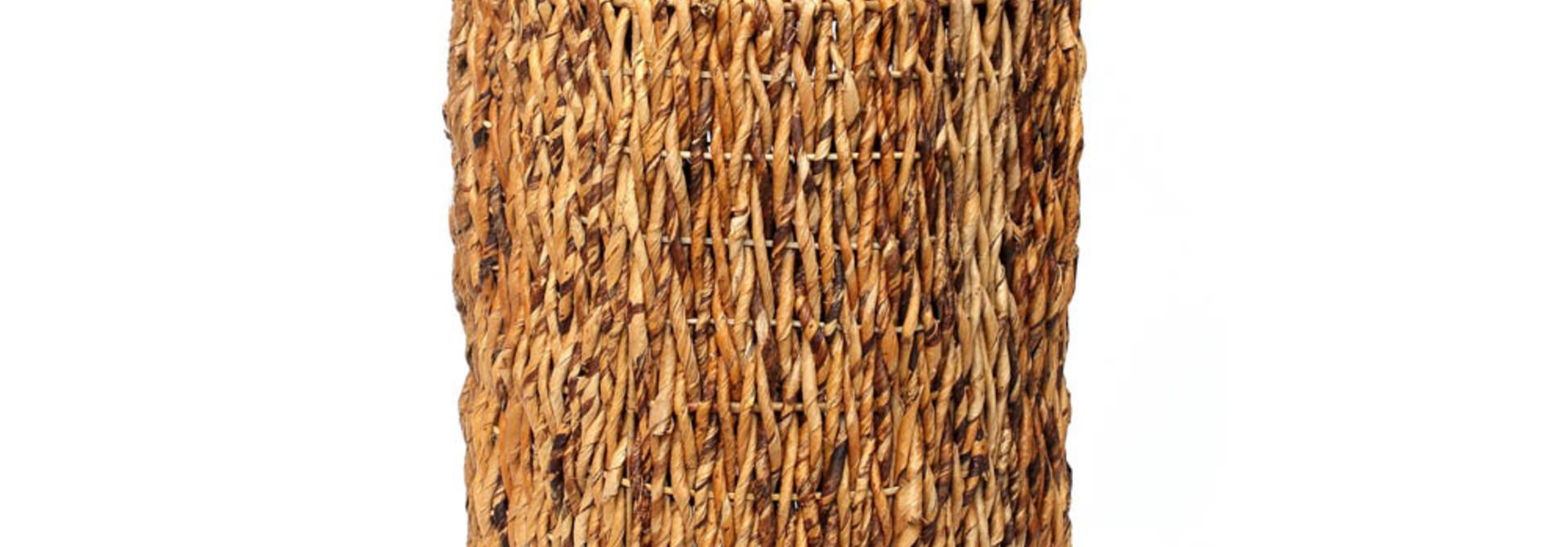 Wasmand - Riet - Banana - M - 37 x 37 x 44 cm
