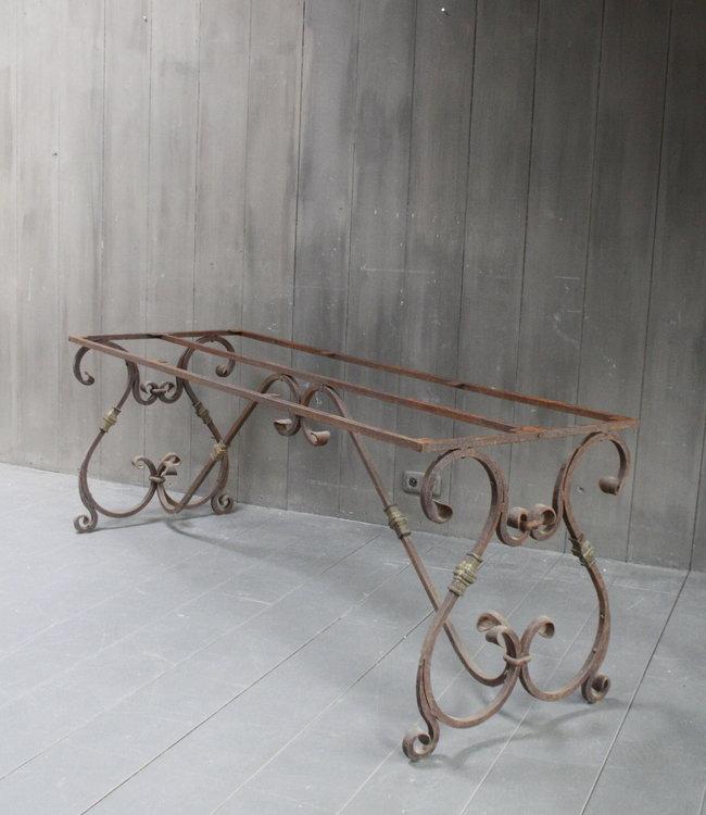 Rene Houtman Smeedijzeren 200x70 cm Tafelonderstel Krulpoten