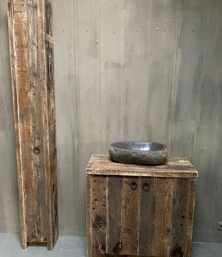Rene Houtman Oud houten badkamermeubel Kelsey 90 cm
