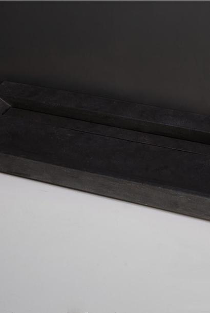 Wastafel Natuursteen Gezoet 100x47x9 cm