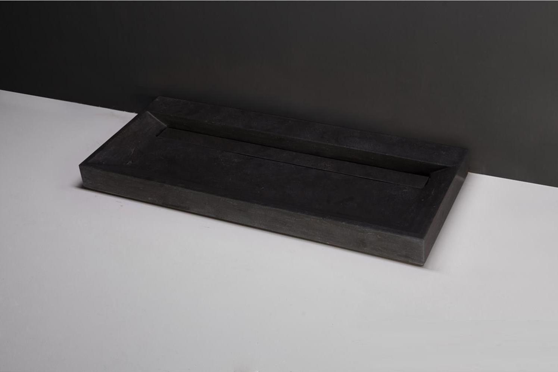 Wastafel Natuursteen Gezoet 100x47x9 cm-1