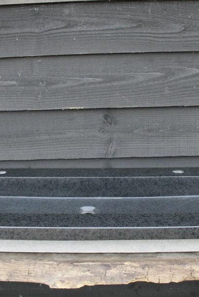 Wastafel Natuursteen Gezoet 140,5x51,5x9,5 cm