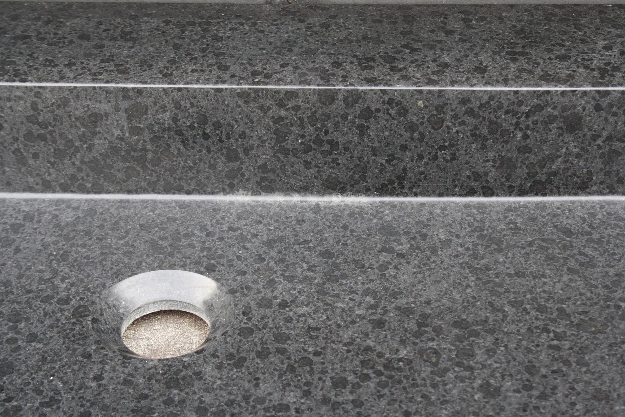Wastafel Natuursteen Gezoet 140,5x51,5x9,5 cm-4