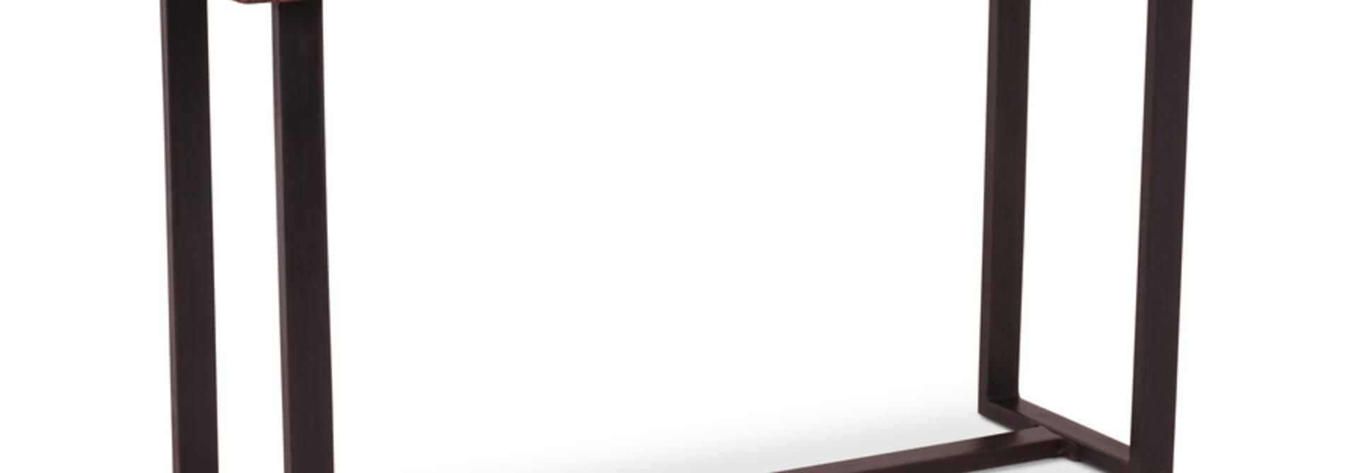 Wandtafel Romero Teak 130x50x77 cm