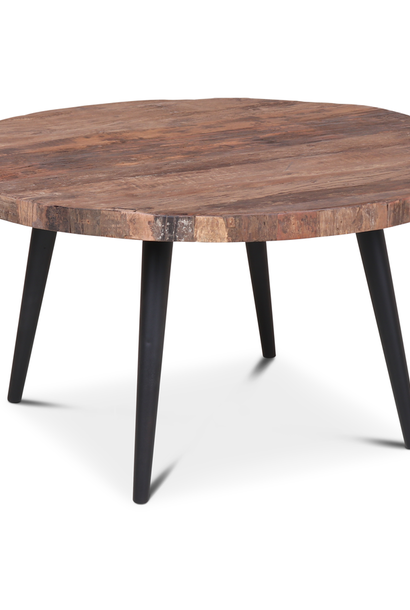 Salontafel Marrie 80x44 cm oud hout
