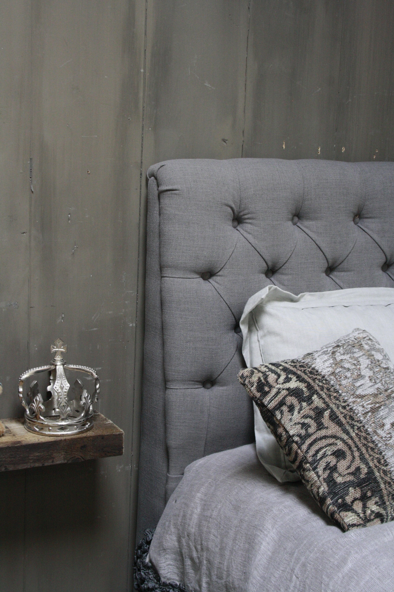 Darlton Ledikant - Eenpersoons 90 x 200 cm Grijs + gratis lattenbodem-4