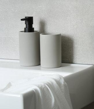 Accessoires Set Toilet Badkamer Jukon Beton