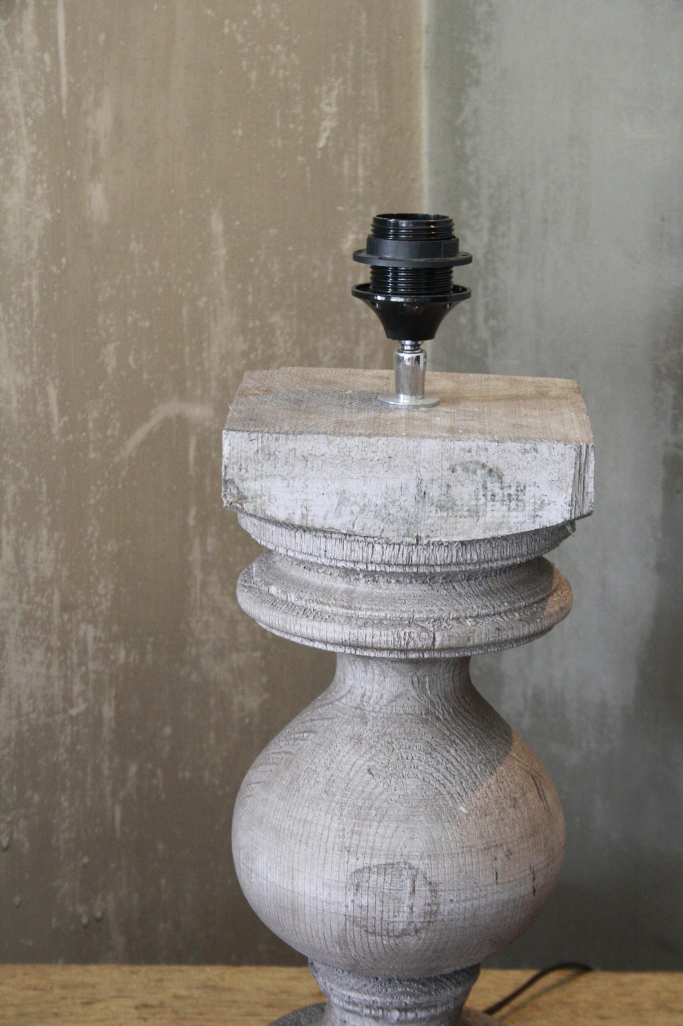 Balusterlamp Grijs Onderstel L50 cm-2
