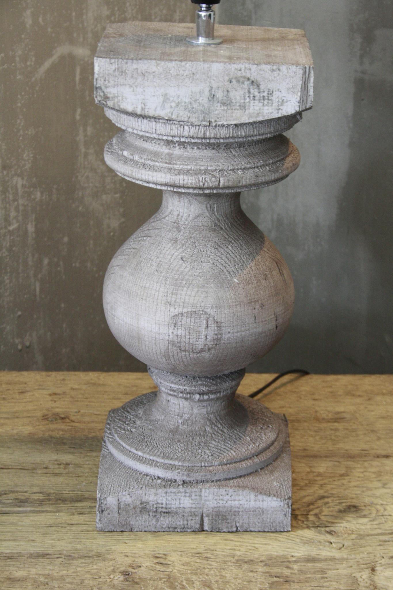 Balusterlamp Grijs Onderstel L50 cm-3