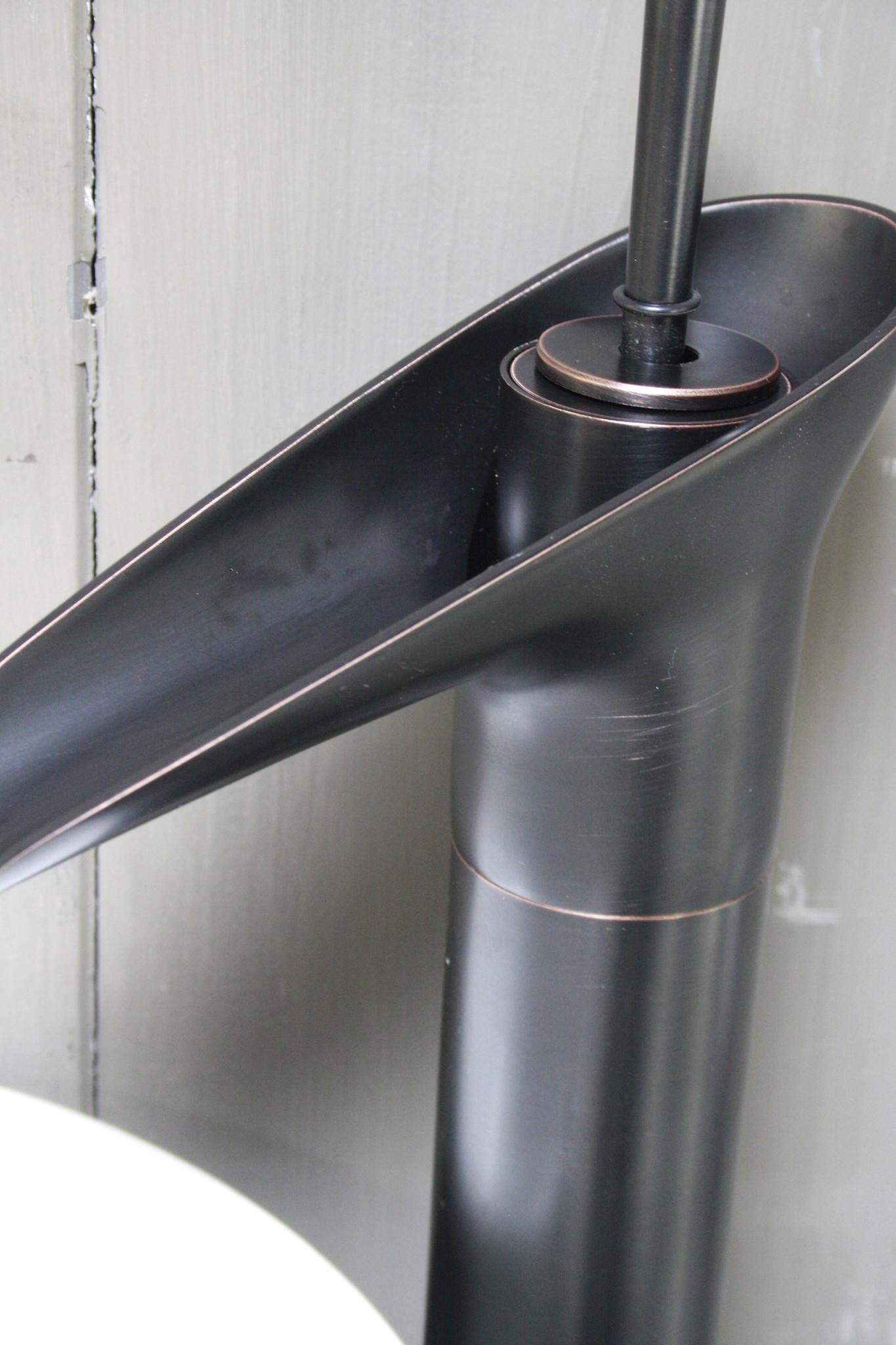 Watervalkraan Brons Toilet 32,5 cm-3