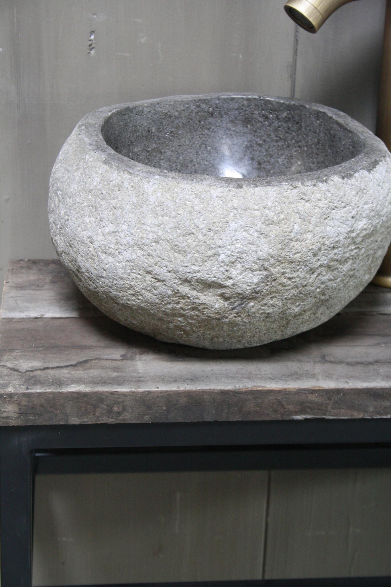 Boris fonteinmeubelset rivier incl. hoge kraan brons-3