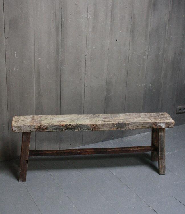 Rene Houtman Eetkamerbank oud hout L124 x H46 x B20 cm