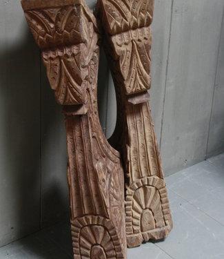 Rene Houtman Ornament Steunpilaar Handgemaakt 80 cm