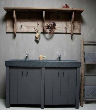 Rene Houtman Landelijk badkamermeubel 140 cm met deurtjes
