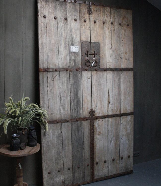 Rene Houtman Set deuren Nepal L260cm x B146 cm - Nostalgisch