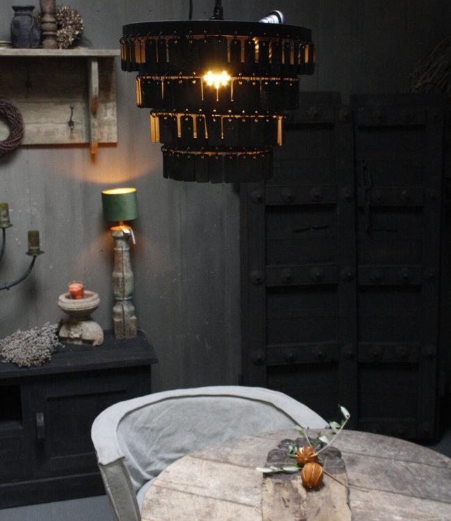 Rene Houtman Landelijke Metalen Hanglamp Dean 40 x 55 cm