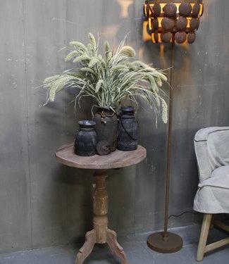 Rene Houtman Wijntafel oud teak hout H72 x B50 cm