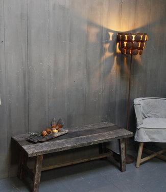 Rene Houtman Salontafel uniek oud hout L120 x B48 cm
