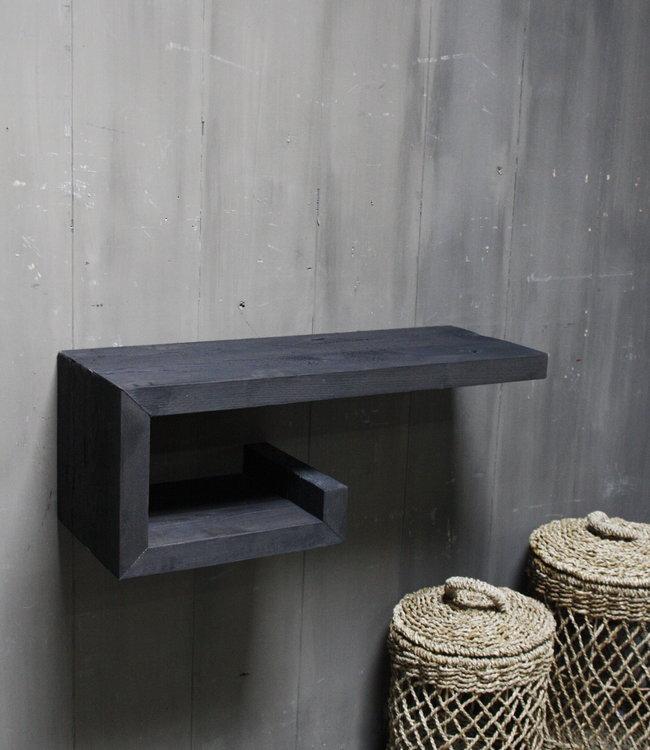 Rene Houtman Rosa - Fonteinmeubel - Dark Wood - 80 cm