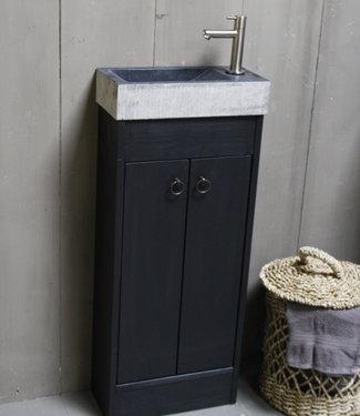 Rene Houtman Landelijk toiletmeubel set - Dark - Ribble