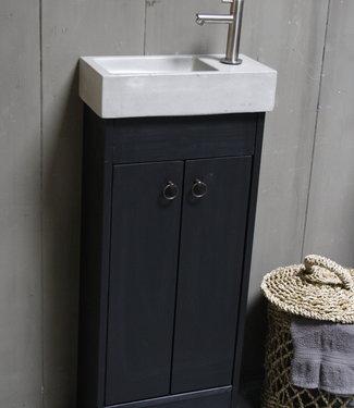 Rene Houtman Landelijk toiletmeubel set - Dark - L. Grey