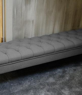 Rene Houtman Bedbankje Gecapitonneerd Grey 160 cm