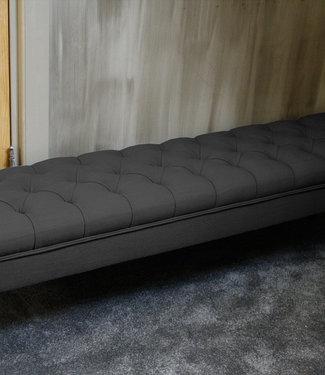 Rene Houtman Bedbankje Gecapitonneerd Graphite 160 cm
