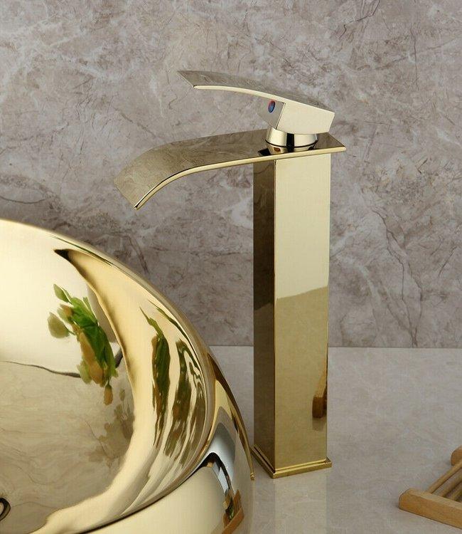 Rene Houtman Moderni Watervalkraan Goud 32 cm