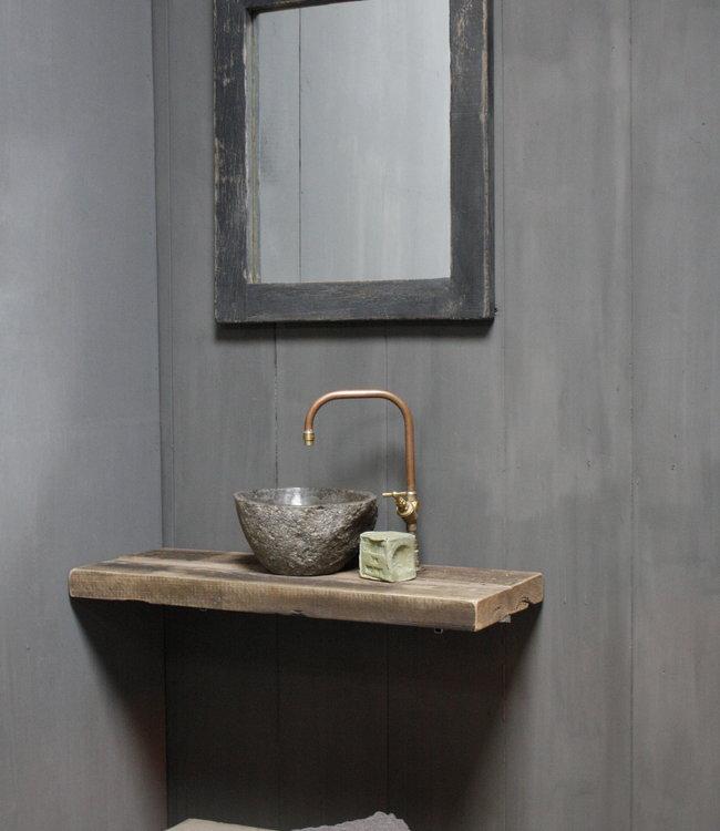 Rene Houtman Toilet Spiegel 65 x 55 cm Old Black