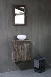Oud Eikenhouten Toiletmeubels