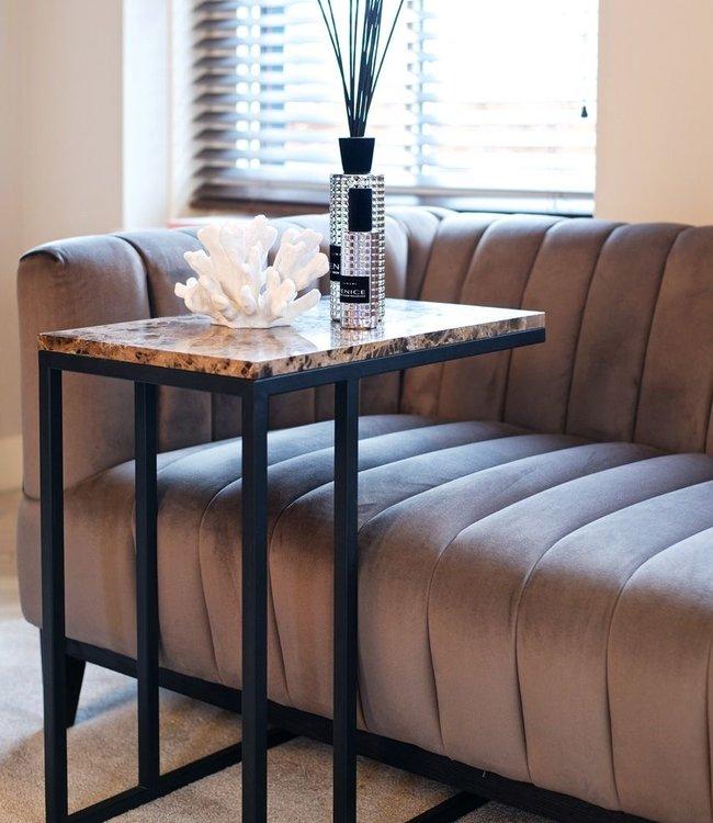 Richmond Richmond - Sofa tafel Orion met bruin marmer