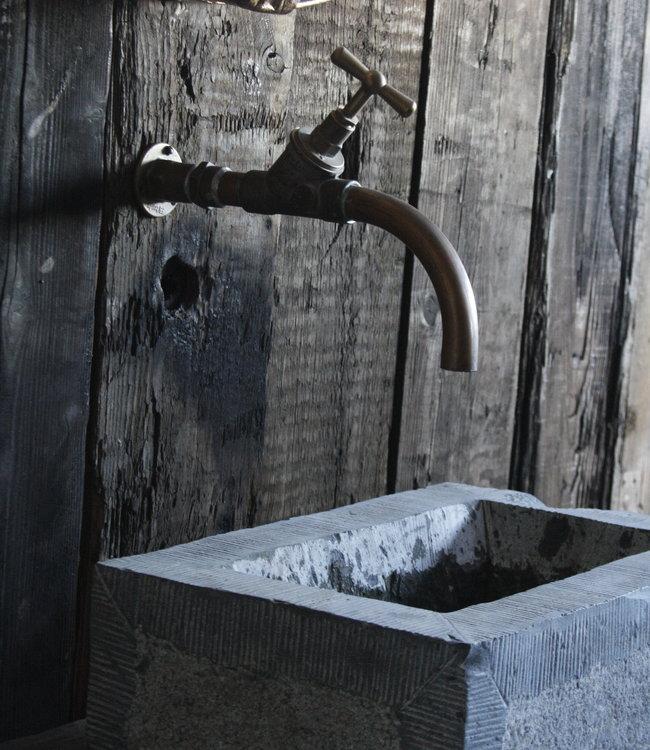 Rene Houtman Assen - Koperen Muurkraan - Koud Water -
