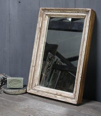 Rene Houtman Spiegel Oud Hout India L46xB30xD5 cm